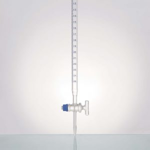 Burette, With Straight Bore, Moulded Screw Thread Glass Stopcock, Class A